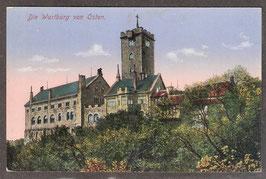 99817   (O-5900)   Eisenach   -Die Wartburg von Osten-   (PK-00412)