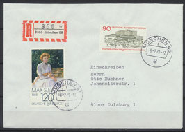 BERL 577 Mischfrankatur