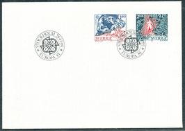 1141-1142 Ersttagsbrief (SE)