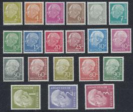 BRD 177-196 postfrisch