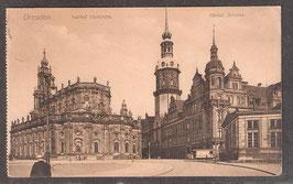01...   (O-8010)   Dresden   -Kathol. Hofkirche, Königl. Schloss-   (PK-00424)
