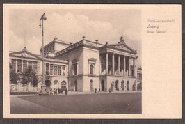 04...   (O-7010; O-7030)   Leipzig   -Reichsmessestadt Leipzig Neus Theater-   (PK-00058)