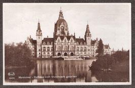 30...   (W-3000)   Hannover   -Rathaus vom Maschpark gesehen-   (PK-00236)