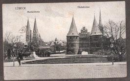 235...   (W-2400)   Lübeck   -Marienkirche, Holstentor-   (PK-00339)
