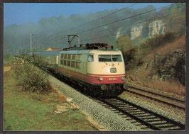 """Postkarte """"Schnellzuglokomotive 103 138-4"""" (PK-Eisenbahn-0003)"""