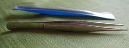 Pinzette 12 cm mit gerade Spitzen