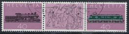 CH 1214-1215 gestempelt Dreierstreifen (2)