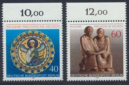 BERL 625-626 postfrisch mit Bogenrand oben