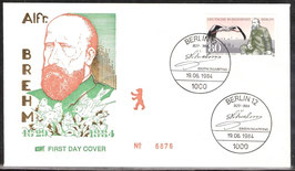 722 FDC (BERL-FDC)