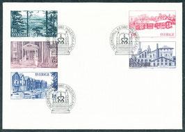 1108-1112 Ersttagsbrief FDC (SE)