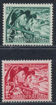 DR 684-685 postfrisch