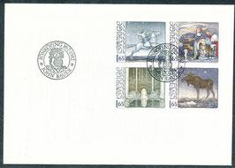 1178-1181 Ersttagsbrief (SE)
