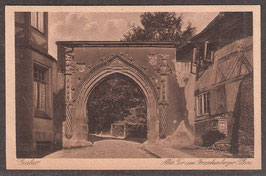 3864.  (W-3380)   Goslar   -Altes Tor am Frankenberger Plan.. -    (PK-00033)