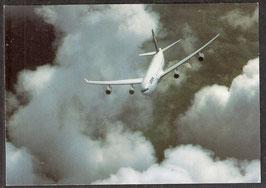 "Postkarte ""Airbus A340-300""  (PK-Flugzeug-0010)"