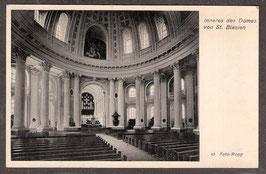 79837    (W-7822)   St. Blasien   -Inneres des Domes von St. Blasien-    (PK-00322)