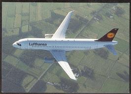 "Postkarte ""Airbus A320-200"" (PK-Flugzeug-0007)"