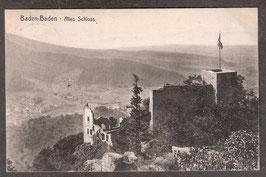 765..    (W-7570)   Baden-Baden   -Altes Schloss-   ((PK-00381)