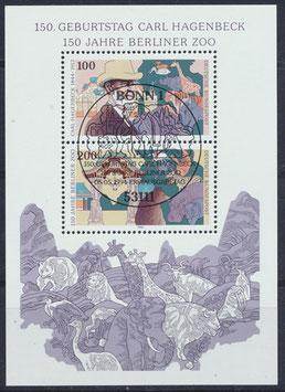 BRD Block 28   1734-1735 gestempelt (3)