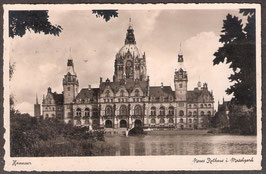30...   (W-3000)   Hannover   -Neues Rathaus i. Maschpark-   (PK-00257)