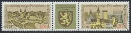 DDR 2153-2154 philat. Stempel Dreierstreifen (2)