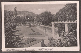 97688   (W-8730)   Bad Kissingen   -Rosengarten mit Fürstenhof-