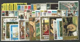44 verschiedene Arabische Staaten Bildermarken