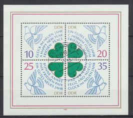 DDR Block 75, 2844-2847 gestempelt (2)