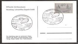 -75 Jahre 2. Juli 1900 Aufstieg von LZ 1-  (T-Luftschiff-0011)