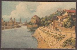 9403.   (W-8390)   Passau   -Ansicht von der Ilstadt-   (PK-00110)