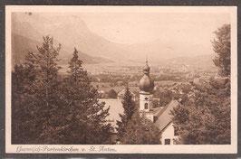 82467   (W-8100)   Garmisch-Partenkirchen   -von St. Anton-   (PK-00416)