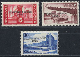SAAR 362-364 postfrisch