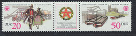 DDR 3028-3029 postfrisch Zusammendruck