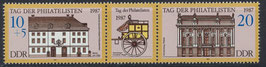 DDR 3118-3119 postfrisch Zusammendruck