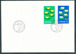 972-973 Ersttagsbrief (SE)