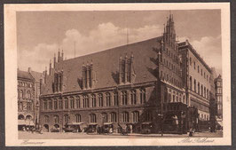 30...   (W-3000)    Hannover   -Altes Rathaus-    (PK-00211)