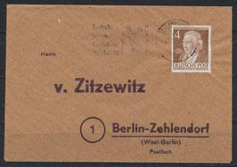 BERL 91 Beleg Einzelfrankatur