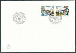 921-922 Ersttagsbrief (SE)