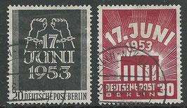 BERL 110-111 gestempelt
