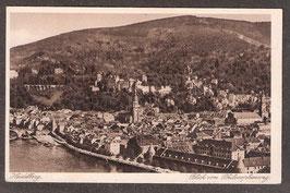 691...   (W-6900)    Heidelberg   -Blick vom Philosophenweg-   (PK-00258)