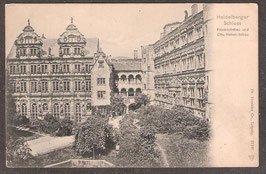 691...    (W-6900)   Heidelberg    -Heidelberger Schloss Friedrichsbau und Otto Heinrichsbau-   (PK-00209)