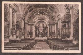 92224 (W-8450)  Amberg -Inneres der Bergkirche-  (PK-00001)