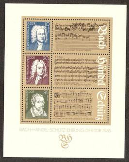 DDR Block 81   postfrisch