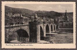691...   (W-6900)   Heidelberg   -Die alte Brücke mit Schloss-   (PK-00160)
