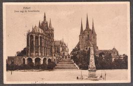 990.    (O-5010)   Erfurt   -Dom und St. Severikirche-   (PK-00428)
