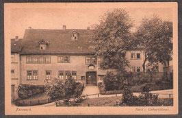 99817    (O-5900)   Eisenach   -Bach's Geburtshaus-   (PK-00193)