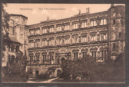 691..   (W-6900)    Heidelberg   -Der Otto-Heinrichsbau-   (PK-00392)