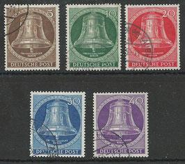 BERL 101-105 gestempelt