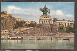 560..    (W-5400)   Koblenz   -Kaiser-Wilhelm-Denkmal und Festung Ehrenstein-   (PK-00143)