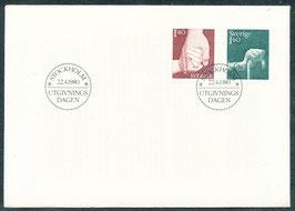 1103-1104 Ersttagsbrief FDC (SE)