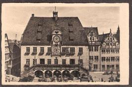 740..   (W-7100)    Heilbronn   -Das Rathaus-    (PK-00458)